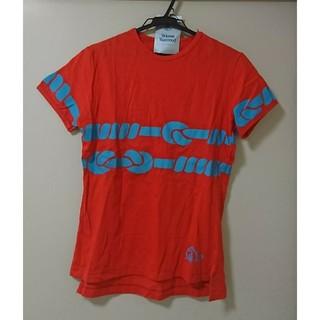 ヴィヴィアンウエストウッド(Vivienne Westwood)のヴィヴィアンウエストウッド★メンズ★ロープ柄★Tシャツ★46★Mサイズ(シャツ)