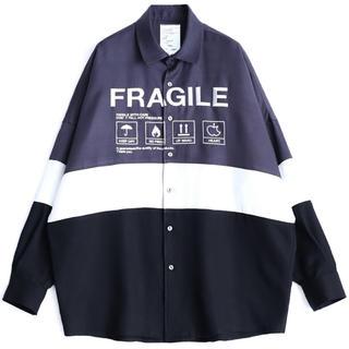 SHAREEF - シャリーフ/SHAREEF ビックシャツ [チャコール]
