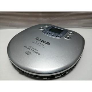 パナソニック(Panasonic)のポータブルCDプレーヤー パナソニック SL-CT430(ポータブルプレーヤー)
