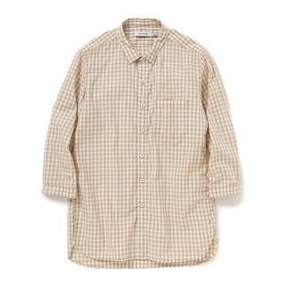 ノンネイティブ(nonnative)のノンネイティブ チェックシャツ シャツワンピース(Tシャツ/カットソー(七分/長袖))