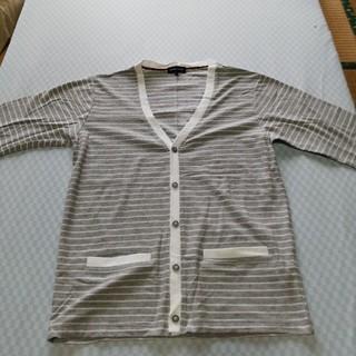 アベイル(Avail)の五分袖 サマーカーディガン メンズLL サイズ(カーディガン)