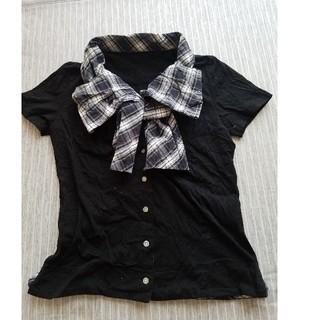 ヴィヴィアンウエストウッド(Vivienne Westwood)のリボン襟半袖カットソー(カットソー(半袖/袖なし))