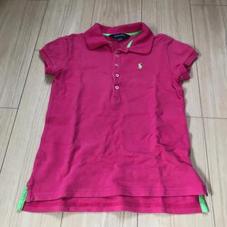 ラルフローレン(Ralph Lauren)のM(8-10)140cm.  RALPH LAURENポロシャツ(Tシャツ/カットソー)