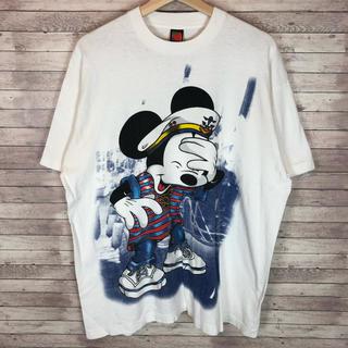Disney - 90'sDisney ディズニー ミッキーマウス Tシャツ メンズ ホワイト