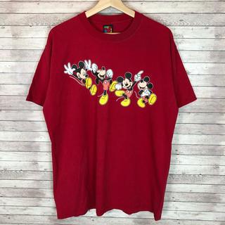 Disney - 90'sDisney ディズニー USA製 ミッキーマウス Tシャツ メンズL