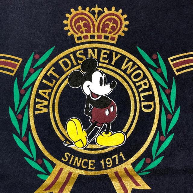 Disney(ディズニー)の90'sDisney ディズニー ミッキーマウス Tシャツ メンズL メンズのトップス(Tシャツ/カットソー(半袖/袖なし))の商品写真