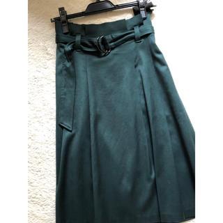 オープニングセレモニー(OPENING CEREMONY)のオープニングセレモニー フレアスカート ベルト付(ひざ丈スカート)