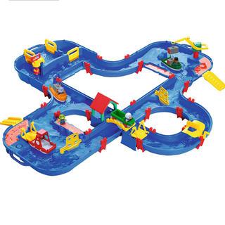 ボーネルンド(BorneLund)のアクアプレイ Aqua Play 'n Go 660 新品 最大級セット(知育玩具)