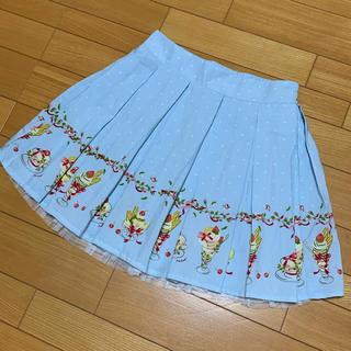 アンクルージュ(Ank Rouge)のAnk Rouge いちごパフェスカート(ミニスカート)