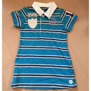 ティーケー(TK)のtk100ポロシャツ(Tシャツ/カットソー)