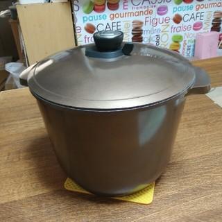 アイリスオーヤマ - アイリスオーヤマ無加水鍋(深型)IH対応