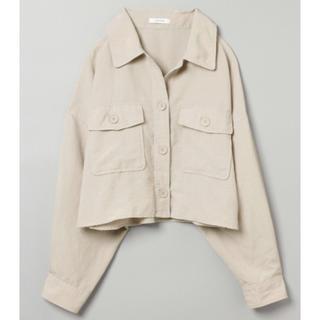 JEANASIS - リネンライクBIGシャツジャケット