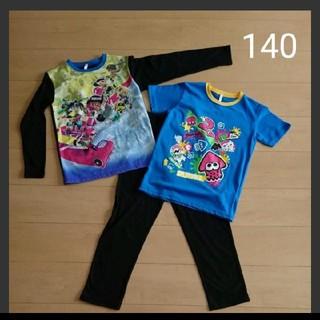 【新品】スプラトゥーン 光るパジャマ 140