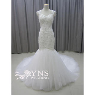 YNS ウェディング マーメイド ウェディングドレス