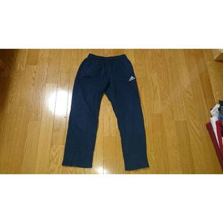 アディダス(adidas)の男児140adidasアディダストレーニングパンツ紺ネイビートレパン(パンツ/スパッツ)