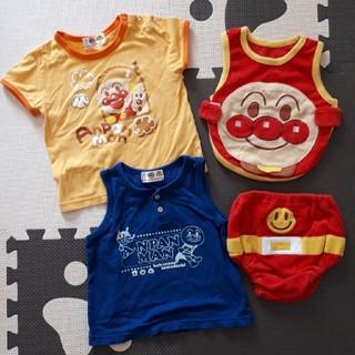 アンパンマン(アンパンマン)のアンパンマン Tシャツ タンクトップ セット 90(Tシャツ/カットソー)
