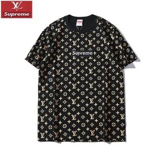 ルイヴィトン(LOUIS VUITTON)のLOUIS VUITTON コラボ ロゴ刺繍 男女兼用Tシャツ カジュアル(Tシャツ/カットソー(半袖/袖なし))