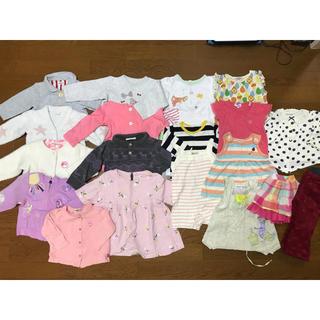 ベビーギャップ(babyGAP)の女の子 まとめ売り 80〜90サイズ ブランド多数 20点(その他)