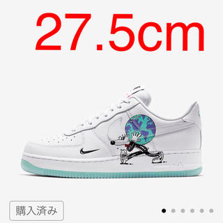 NIKE - NIKE AIR FORCE 1 EARTH DAY  27.5cm