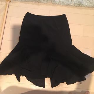 ビッキー(VICKY)のVICKY 膝丈シフォンスカート(ひざ丈スカート)