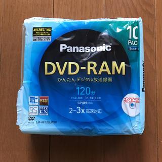 パナソニック(Panasonic)の未使用☆Panasonic DVD-RAM 7枚(その他)
