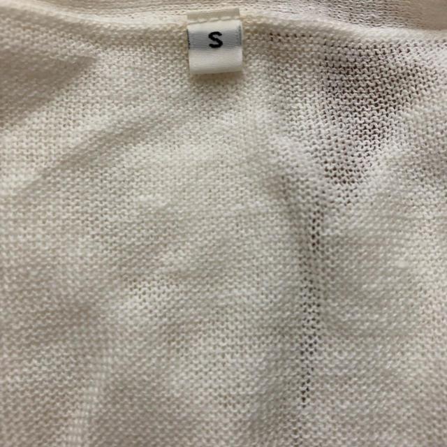 MUJI (無印良品)(ムジルシリョウヒン)の無印良品  リネン カーディガン レディースのトップス(カーディガン)の商品写真