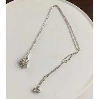 プラチナ  750  ダイヤモンドネックレス