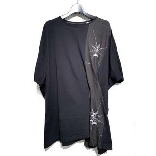 Yohji Yamamoto - Bヨウジヤマモト スパイダースリットTシャツ