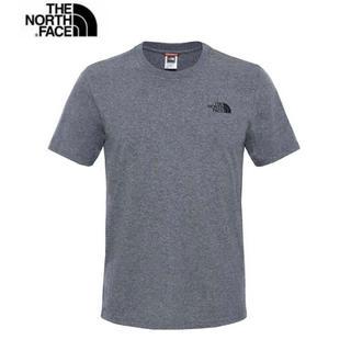 ザノースフェイス(THE NORTH FACE)のThe north face ノースフェイス  Tシャツ XSサイズ グレー(Tシャツ(半袖/袖なし))