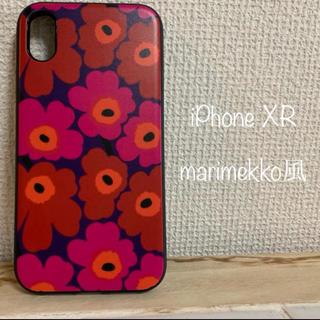 マリメッコ(marimekko)の スヌーピー様専用、iPhoneXRケース (iPhoneケース)