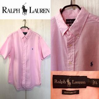 POLO RALPH LAUREN - ☆美品 早い者勝ち!ポロラルフローレン コットンリネン 半袖シャツ