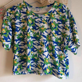 スライ(SLY)のSLY花柄T♡(Tシャツ(半袖/袖なし))