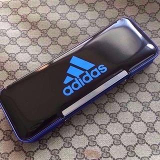 ミツビシエンピツ(三菱鉛筆)のアディダス箱型筆入れ 最新モデル P-1505BT3 #2(ペンケース/筆箱)