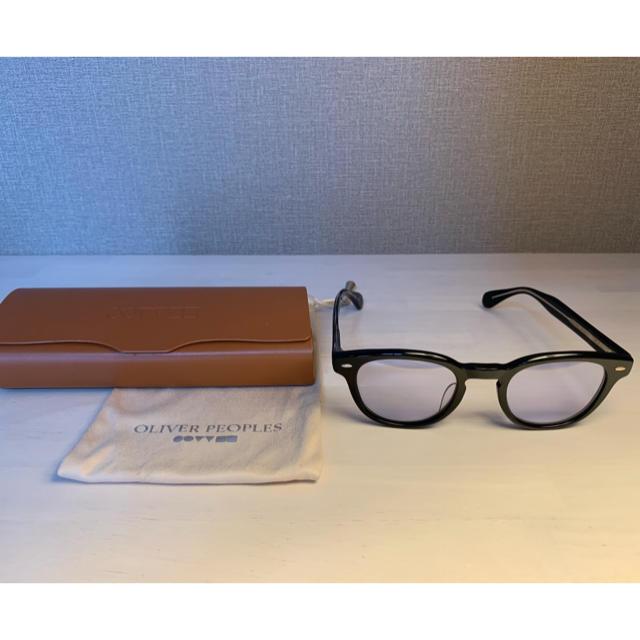 OLIVER PEOPLES Sheldrake BKG ライトブルー メンズのファッション小物(サングラス/メガネ)の商品写真