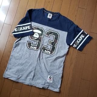 アベイシングエイプ(A BATHING APE)の値下げ!apeTシャツ(Tシャツ/カットソー(半袖/袖なし))