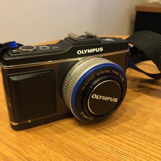 OLYMPUS - 値下げOLYMPUS PENミラーレス一眼  E-P2ブラック レンズセット