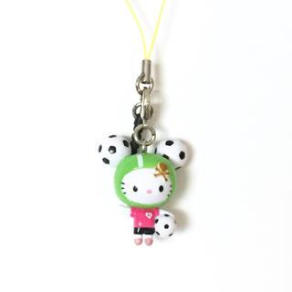 ハローキティ(ハローキティ)の新品 Hello Kitty ストラップ(ストラップ/イヤホンジャック)