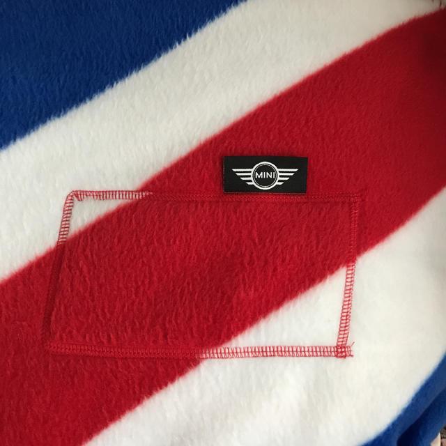 BMW(ビーエムダブリュー)のMINIクーパー ユニオンジャック柄 ベッドカバー エンタメ/ホビーのコレクション(ノベルティグッズ)の商品写真