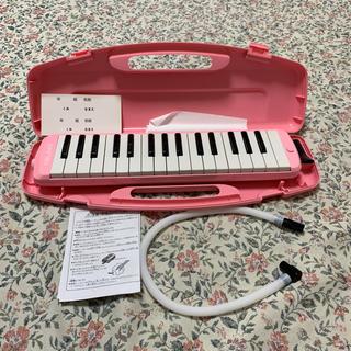 NEUMA 鍵盤ハーモニカ メロディオン ピアニカ 32鍵 (ピンク)