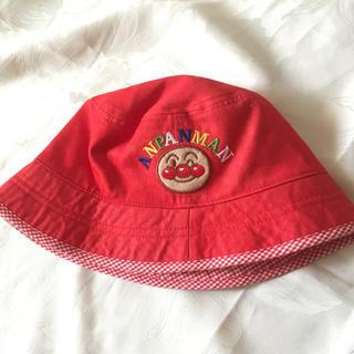 バンダイ(BANDAI)のアンパンマン帽子 赤(帽子)