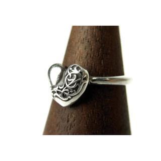 クロムハーツ(Chrome Hearts)のクロムハーツ CHROME HEARTS■バブルガム ハート シルバーリング(リング(指輪))