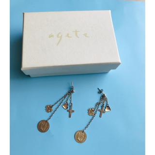 アガット(agete)のagete  アガット インポート 9k ロングピアス(ピアス)