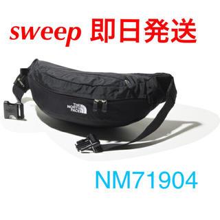 ザノースフェイス(THE NORTH FACE)のblack NM71904 sweep スウィープ the north face(ボディバッグ/ウエストポーチ)