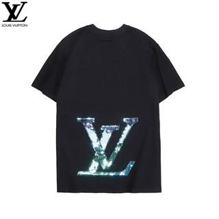 ルイヴィトン(LOUIS VUITTON)のLOUIS VUITTON  夏服 男女兼用Tシャツ 半袖 カジュアル(Tシャツ/カットソー(半袖/袖なし))