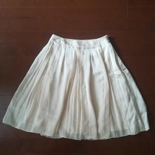 ロペ(ROPE)のROPEオシャレな プリーツスカート(ひざ丈スカート)