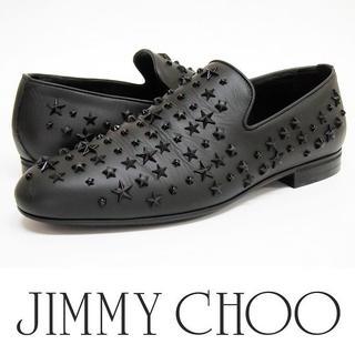 JIMMY CHOO - JIMMY CHOO 美品 スタースタッズ スリッポンシューズ size41.5