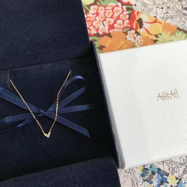 AHKAH(アーカー)の値下げ!アーカー  ローラハートネックレス レディースのアクセサリー(ネックレス)の商品写真