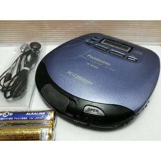 パナソニック(Panasonic)のパナソニック SL-S450 3ヵ月保証 ポータブルCDプレーヤー(ポータブルプレーヤー)