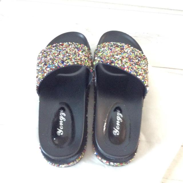 新品 サンダル 厚底 レディースの靴/シューズ(サンダル)の商品写真