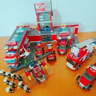 Lego - レゴ シティ 消防署 セット